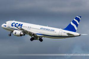 Airbus A320 (F-HBEV) Air Corsica