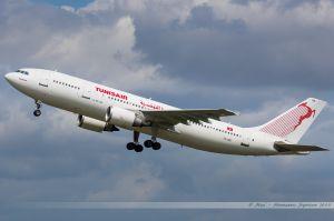 Airbus A300-600 (TS-IPB) Tunisair