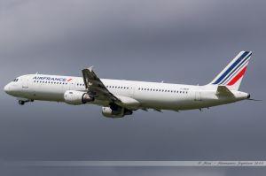 Airbus A321-100 (F-GMZD) Air France
