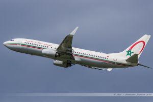 Boeing B737-800 (CN-ROH) Royal Air Maroc