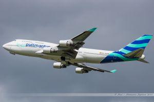 Boeing B747-400 (EC-KSM) Air Pullmantur // Vol RAM