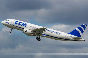 Airbus A320 (F-HBSA) CCM / Air Corsica