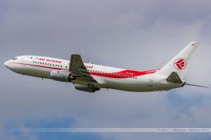 Boeing B737-800 (7T-VJN) Air Algérie