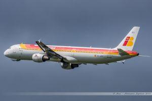 Airbus A321-200 (EC-JEJ) Iberia