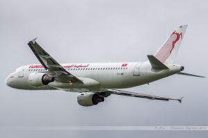 Airbus A320 (TS-IME) Tunisair
