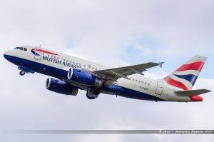 Airbus A319 (G-EUPF) British Airways