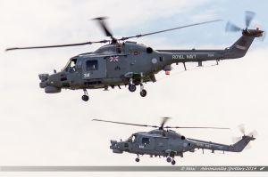 Westland WG-13 Lynx (XZ697/674) %26 Westland WG-13 Lynx (ZD261/314) Royal Navy