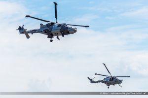 Agusta Westland AW-159 Wildcat (ZZ376) %26 Westland WG-13 Lynx (XZ736/643) Royal Navy