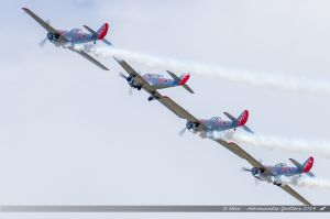 Yak 52 (G-YAKM, G-YAKN, G-YAKU, G-YAKZ) The Yakovlevs Display Team