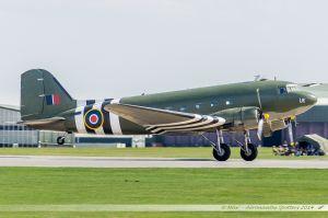 Dakota C-47 (ZA947) Battle of Britain Memorial Flight