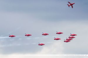 British Aerospace Hawk T.1 - Red Arrows Display Team - Royal Air Force