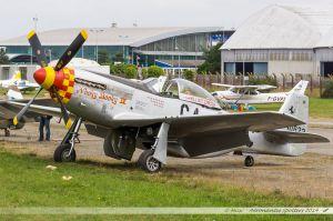 P51-D Mustang (F-AZSB) Société de Développement et de Promotion de l'Aviation