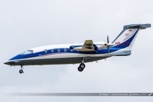 Piaggio P-180 Avanti (HB-LUT) Greenwings