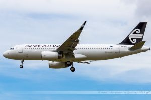 Airbus A320-200SL (ZK-OXA) Air New Zealand