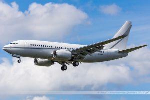 Boeing B737-700BBJ (VP-BWR) USAL