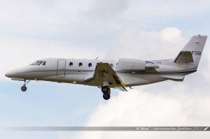 Cessna Citation 560XLS (LX-FGB) Luxaviation