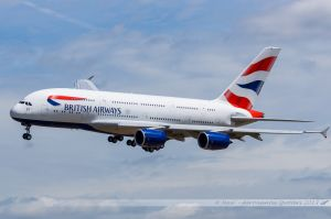 Airbus A380-800 (F-WWSK/G-XLEA) British Airways