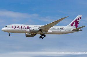 Boeing B787-800 Dreamliner (A7-BCD) Qatar Airways
