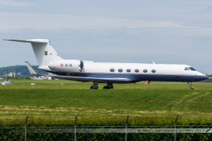 Gulfstream G-V (OE-IIS) Avcon Jet