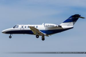 Cessna Citation 525 (LX-DGQ) Global Jet Luxembourg