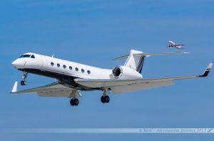 Gulfstream G550 (SE-RKL) Saab Aviation