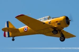 North American T-6G Texan (F-AZCV)  France's Flying Warbirds