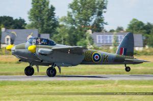 De Havilland DH 98 Mosquito (F-PMOZ) Reconstructions Répliques Avions Anciens
