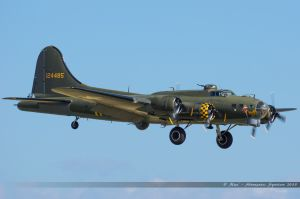 "Boeing B-17G Flying Fortress (G-BEPF) ""Sally B"""