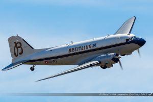 Douglas DC-3 (HB-JRJ) Breitling