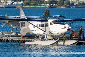 "De Havilland Canada DHC-3T Vazar Turbine Otter (C-GVNL) Harbour Air ""Fairmond Hotel special c/s"""