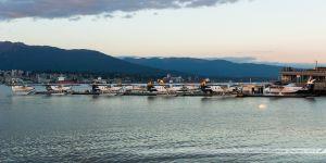 Base hydravions de Vancouver au coucher du soleil