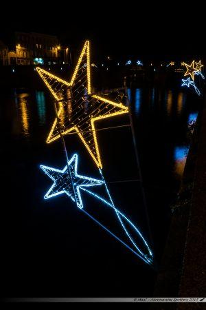 Illuminations 2015 : Les quais de La Mayenne