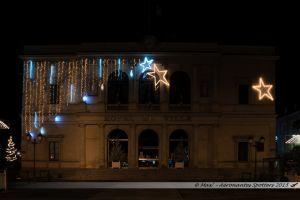 Illuminations 2015 : Mairie de Laval