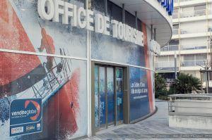 Office de tourisme des Atlantes lors du Vendée Globe 2012