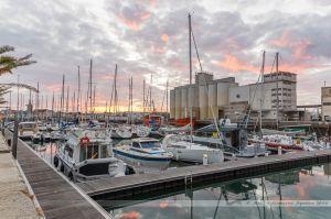 Nouvelle extension du port de plaisance sur l'ancien port de pêche des Sables d'Olonne