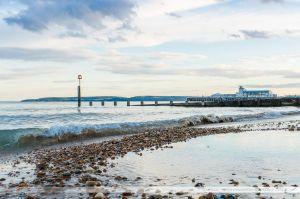 Plage de Bournemouth