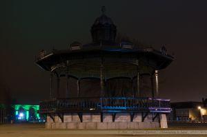 Les Lumières de Laval 2012 - Kiosque du Square de Boston