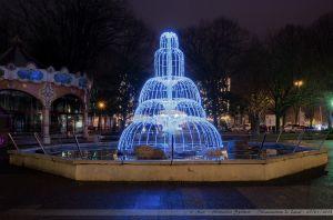 Les Lumières de Laval 2012 - Fontaine de la place du 11 Novembre