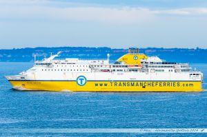 Seven Sisters au départ du Havre vers Portsmouth