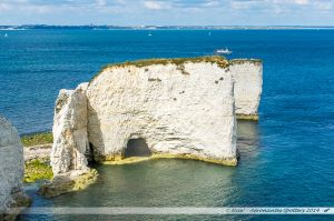 "La formation d' ""Old Harry Rocks"""