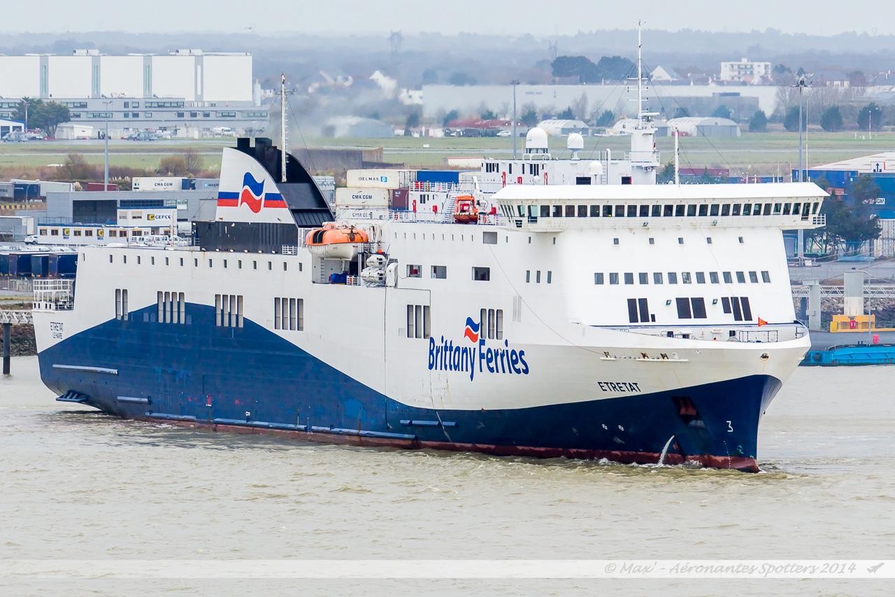 Portsmouth To Le Havre >> Au fil de la Loire : Port de Nantes – St Nazaire