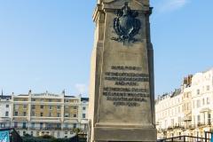 South African War Memorial, face à Regency Square, en hommage aux soldats du Sussex engagés dans cette guerre sud africaine à l'aube du XXe siècle