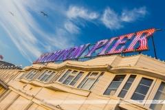 Le célèbre Brighton Pier