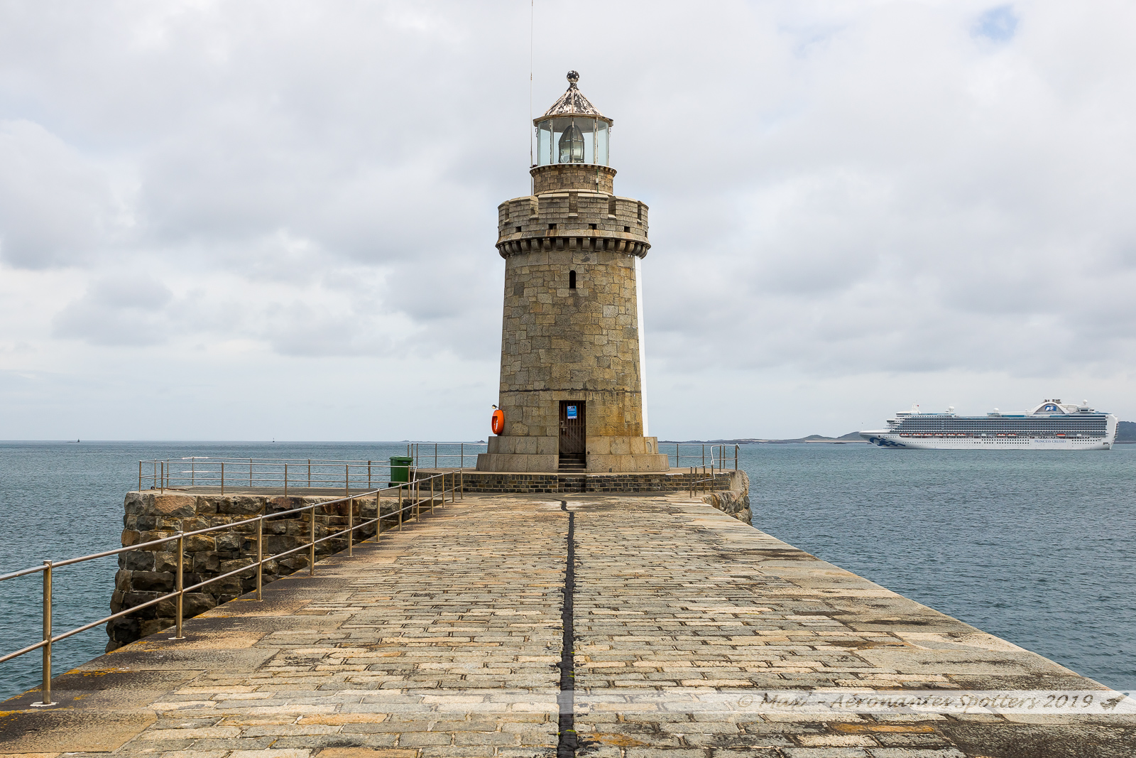 Guernsey Island - Castle Breakwater Lighthouse