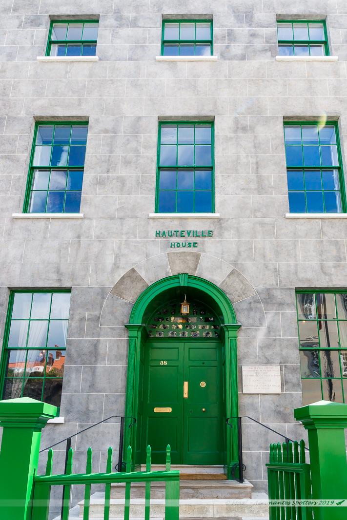 Hauteville House - Façade restaurée côté rue de Hauteville