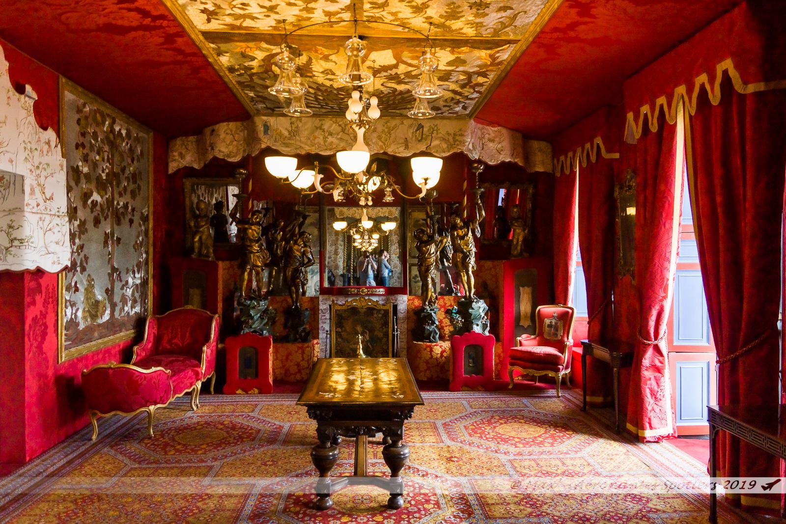 Hauteville House - Le salon Rouge (1er étage)