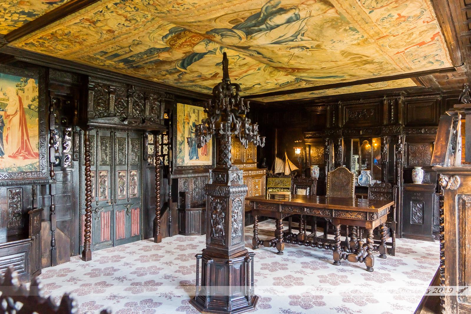Hauteville House - La galerie de chêne (2nd étage)