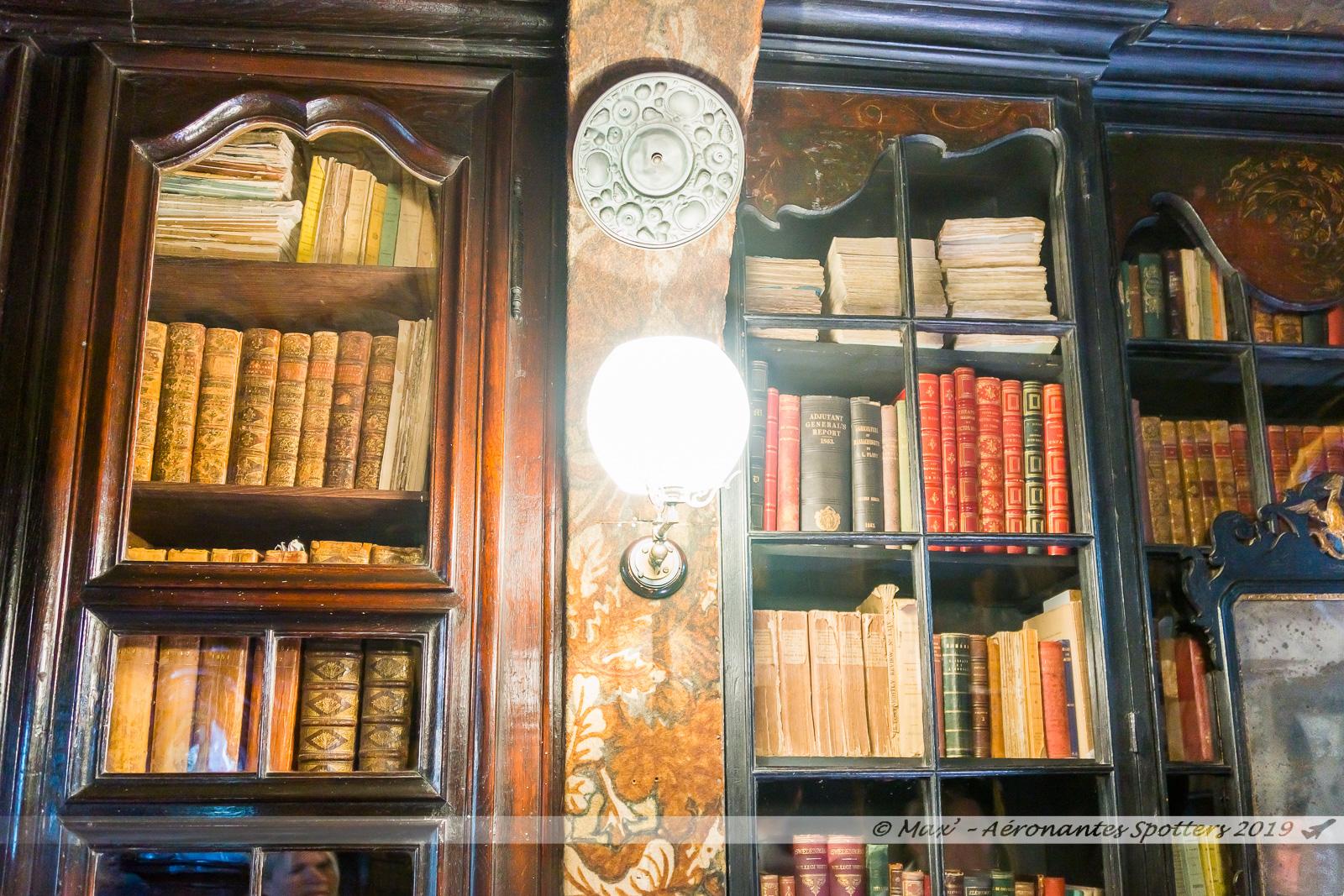 Hauteville House - Bibliothèque (2nd étage)
