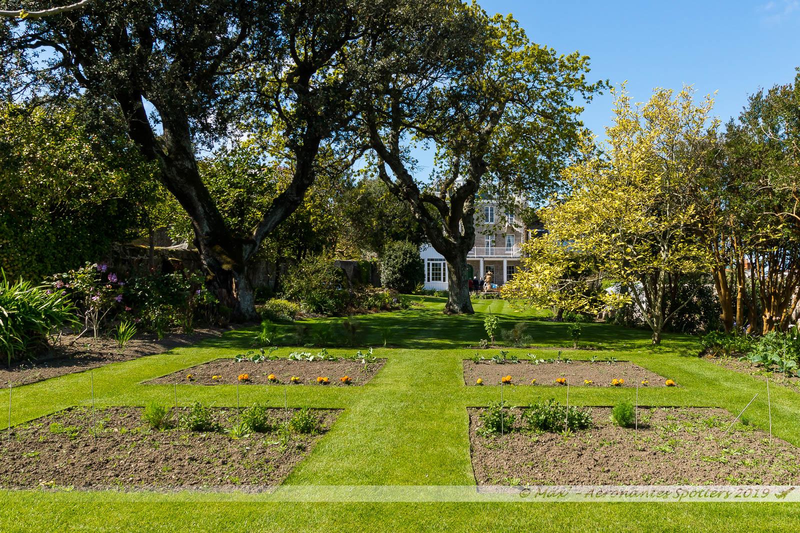 Hauteville House - Le jardin
