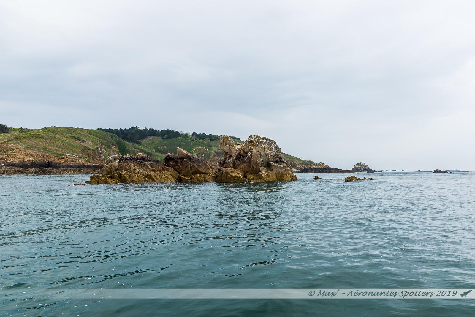 Herm Island - îlots de la Grande et de la Petite Fauconnière